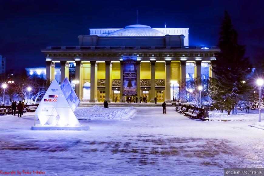 30.12.2013. Новосибирск. Театр Оперы и балета
