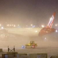 Из-за снежной бури в США отменены тысячи авиарейсов