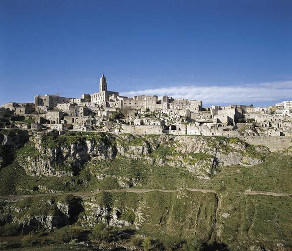 Пещерный город сасси ди матера