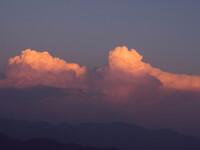 Закат в Ришикеше. Индия