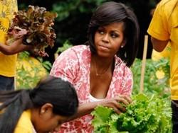 Мишель Обама приглашает на экскурсию в свой огород