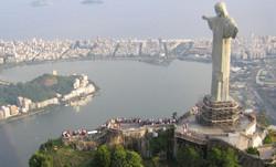 Важнейший памятник Рио -де-Жанейро отметил день рождения