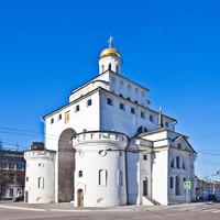 «Золотые ворота» владимирского Кремля пострадали в результате ДТП