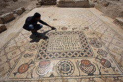 В Израиле нашли древний монастырь с уникальной мозаикой