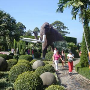 Парк Нонг Нуч в Паттайе.