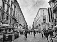 Милан в ЧБ