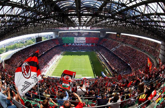 Легендарный стадион «Сан Сиро»