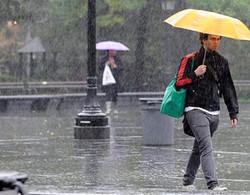 В Испании из-за проливных дождей объявлено штормовое предупреждение