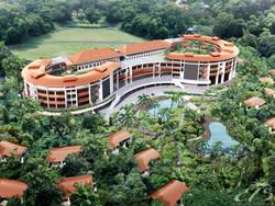 Тропический Новый год под пальмами Сингапура