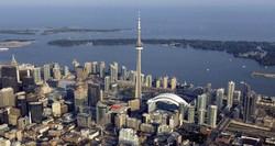 В Канаде любителям острых ощущений предлагают пройтись по краю телебашни