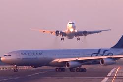 Российский пассажирский самолет чуть не столкнулся с другим лайнером в Барселоне