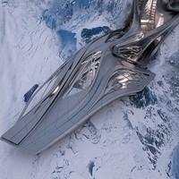 Дизайнер предлагает построить в Антарктиде порт-гостиницу для туристов