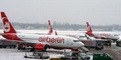 Снегопад в Европе привел к транспортным сбоям