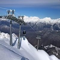 Сочи ждет более миллиона человек на горнолыжных курортах