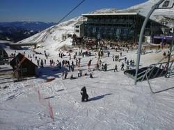 Греция рекордно рано открыла горнолыжный сезон