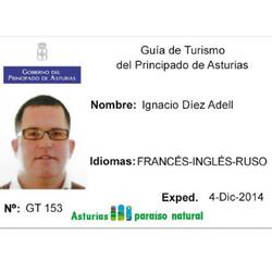 Лицензированный гид Игнасио Диес