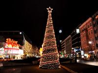 Берлин накануне Рождества 2014. Вечер.