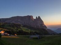 Сайс ам Шлерн, итальянские Альпы