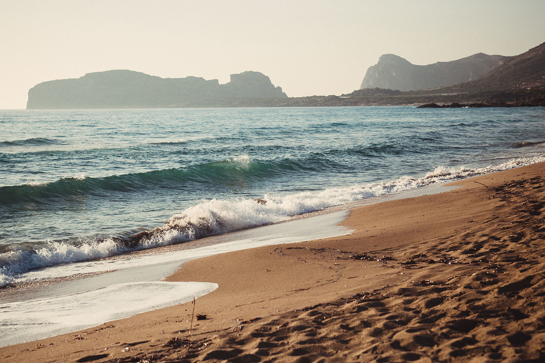 Falassarna beach nudist