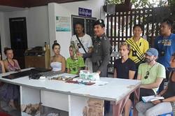 В Таиланде задержаны восемь туристов из России