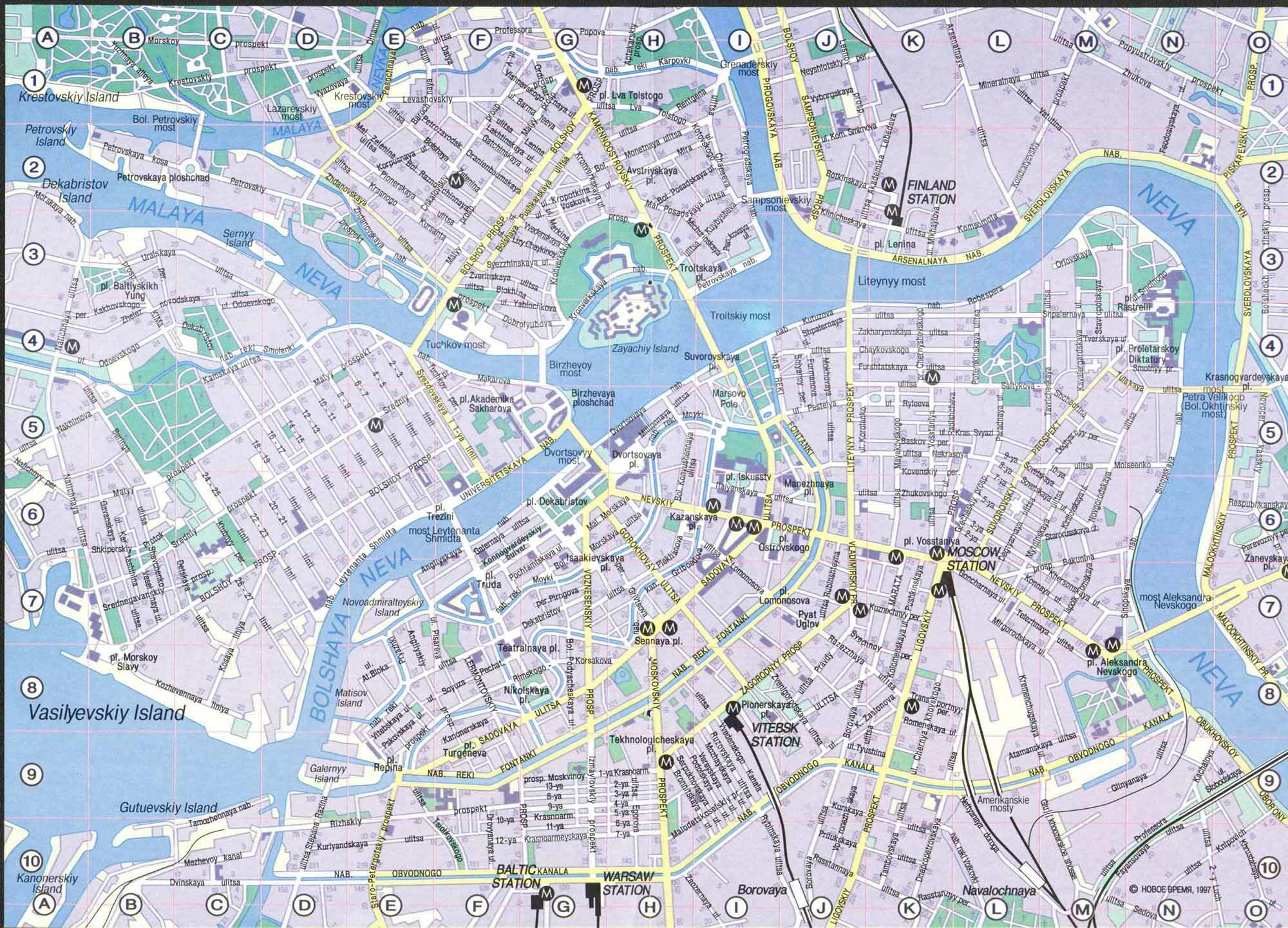 Карты и схемы санкт петербурга