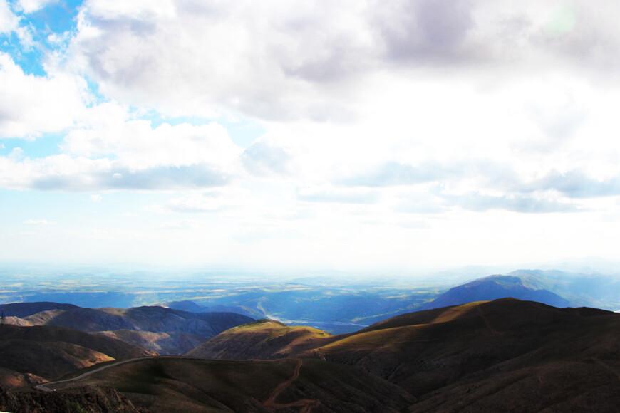 Горы не такие и высокие, зато ужасно красивые!