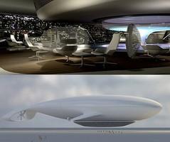 Британская компания представила проект летающей гостиницы