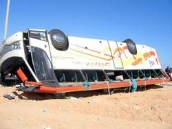 В Хургаде вновь попал в ДТП автобус с туристами, есть жертвы