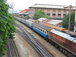 Из аэропорта Бангкока Don Muang решено пустить железнодорожный экспресс