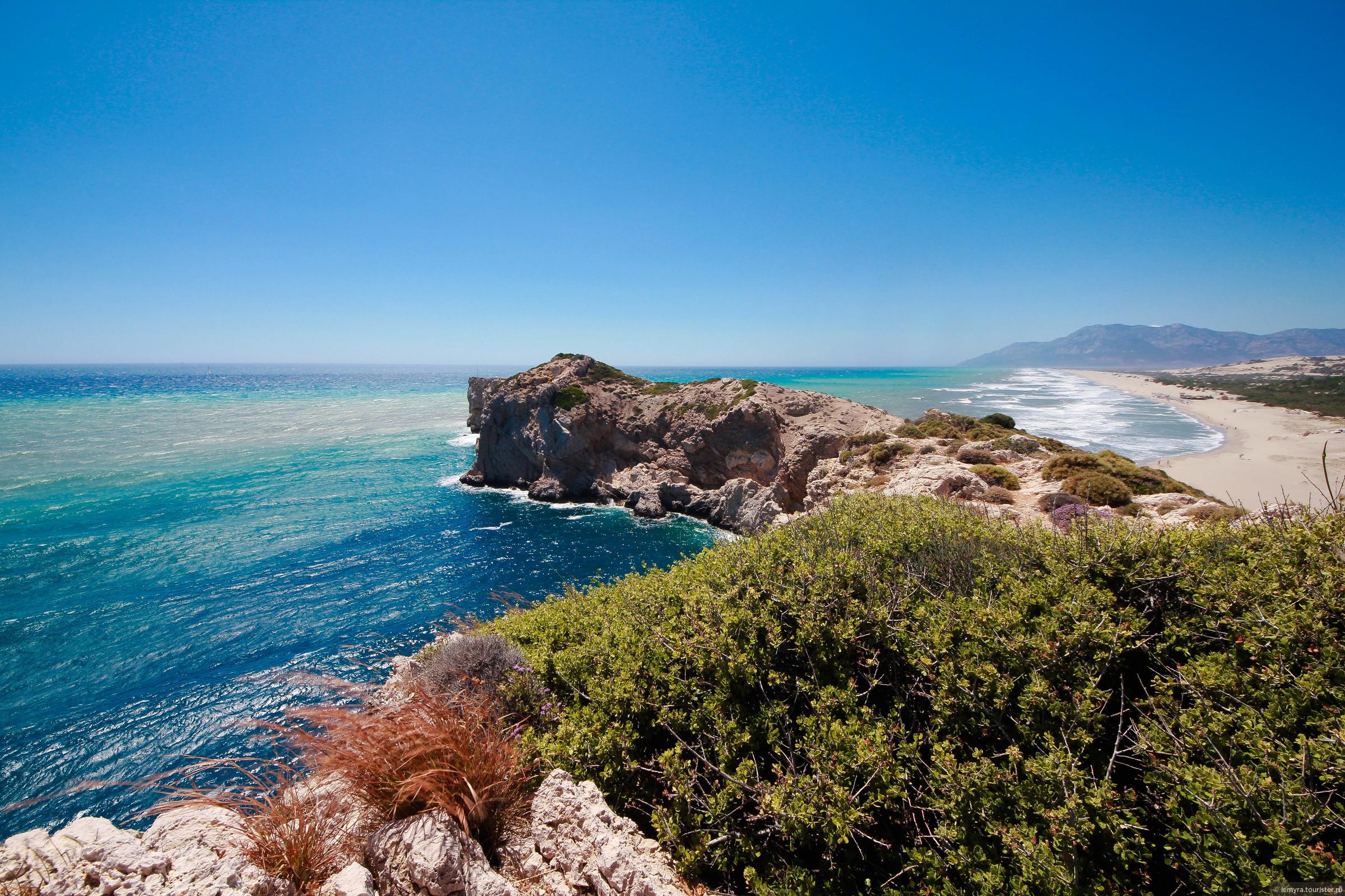 Фото диких пляжей турции