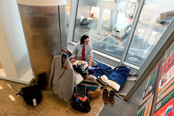 Японец Тэтсуя Або 2 месяца живёт в аэропорту Шереметьево