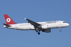 Самолёт Turkish Airlines вновь проверяют на наличие бомбы на борту
