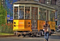 Трамваи Милана стали экскурсионными