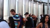 Бурдж Халифа вид со смотровой площадки., 00:32