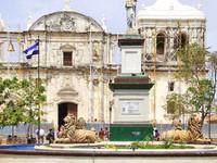 Никарагуа. Ленивый город Лен.
