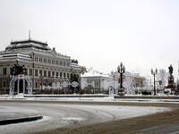 Зимняя Казань. В завитушках.