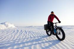 Велопробег по Антарктиде - новый вид активного туризма