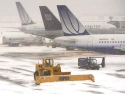 Более 3000 авиарейсов отменено в США из-за снегопадов