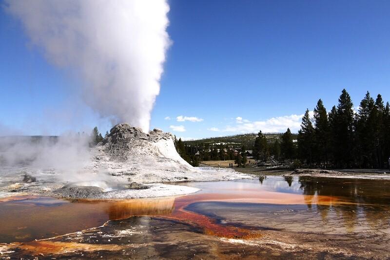 Верхняя часть вулкана провалилась в недра земли