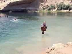 В тунисской пустыне за одну ночь возникло озеро