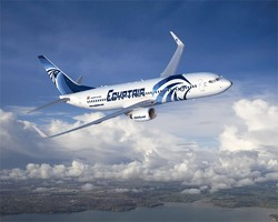 Рейс EgyptAir Каир - Стамбул был задержан из-за сообщения о бомбе