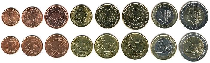 Монеты Евро в Нидерландах