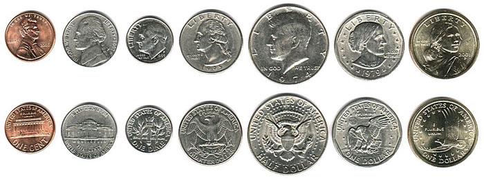 Монеты сша в обращении 100 драм 1998 чайка