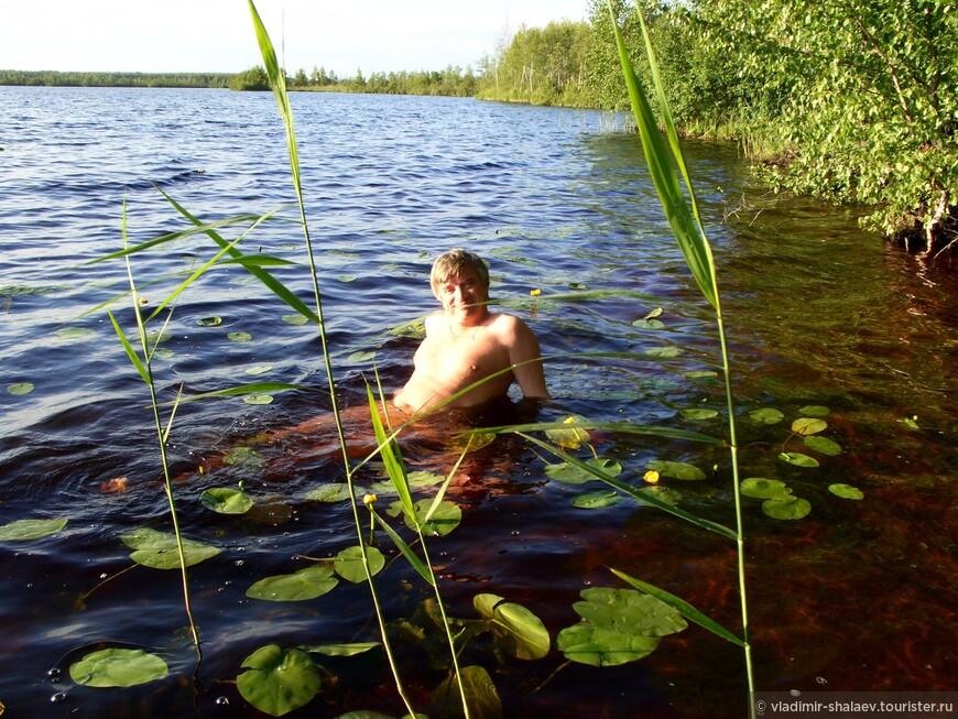 Но купаться можно, даже полезно. После купания вылезаешь, как будто весь в мыле...))