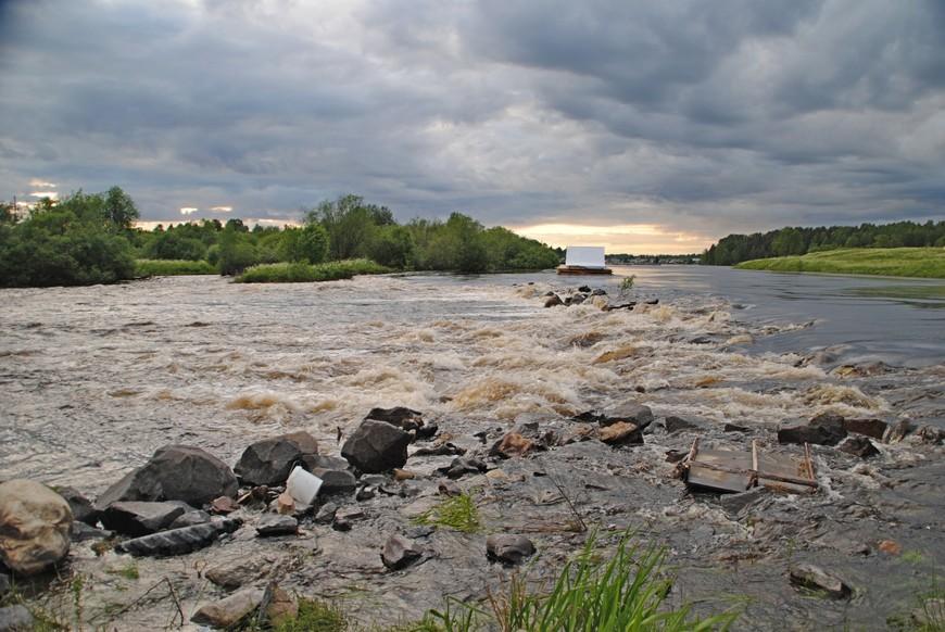 река Тивдийка