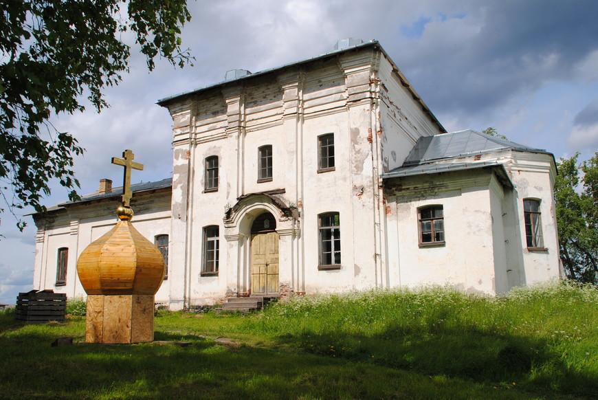Церковь Георгия Победоносца п. Толвуя (2-я пол. ХIХ в.)