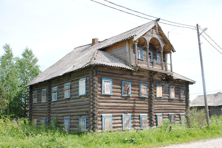 село Космозеро