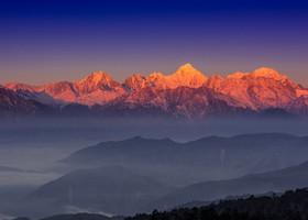 путешествие по Китаю-экскурсия в  горы гунга