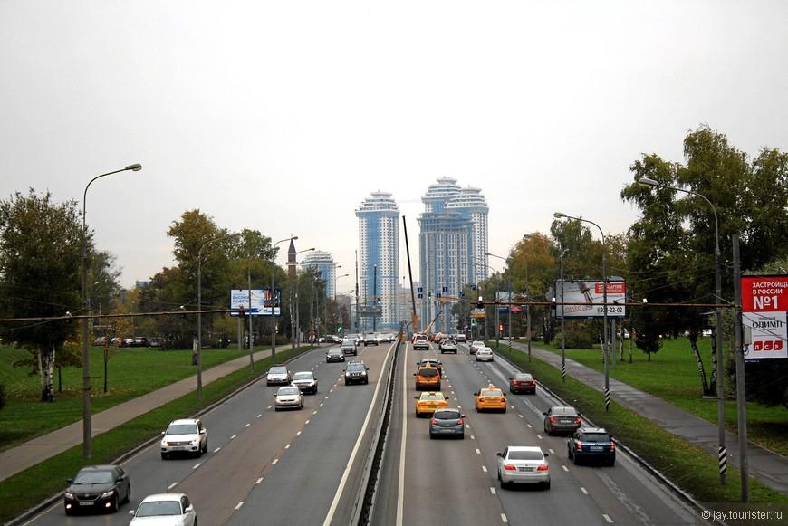 Высотки Минской улицы