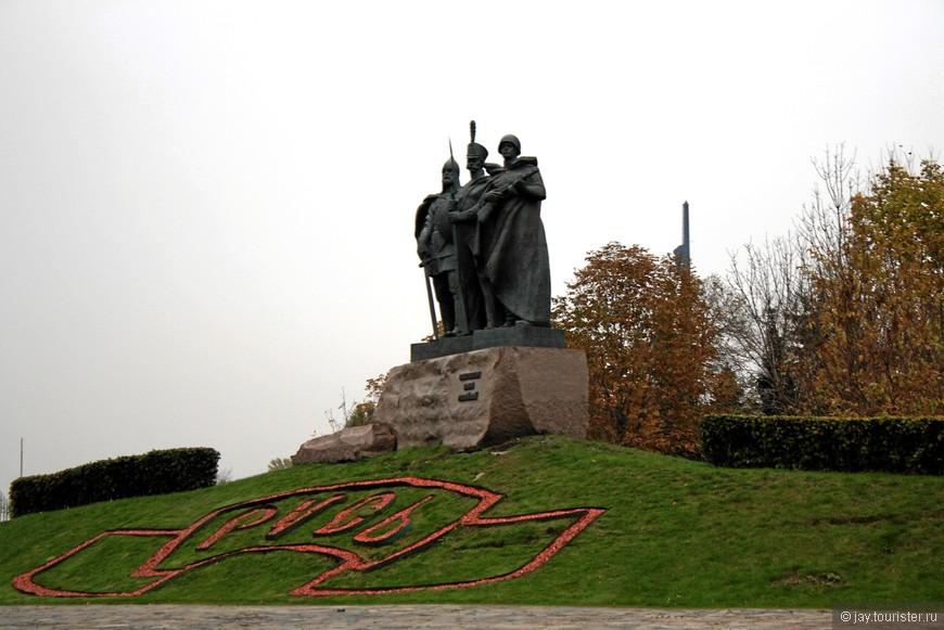 Монумент на Поклонной Горе.